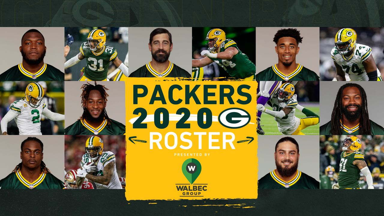 Packers 2020 Roster In Photos
