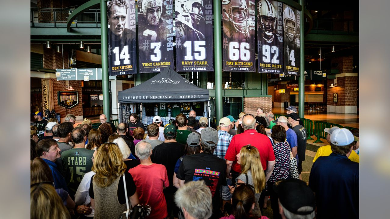 b311291f Packers and Paul McCartney concert merchandise available at Lambeau ...