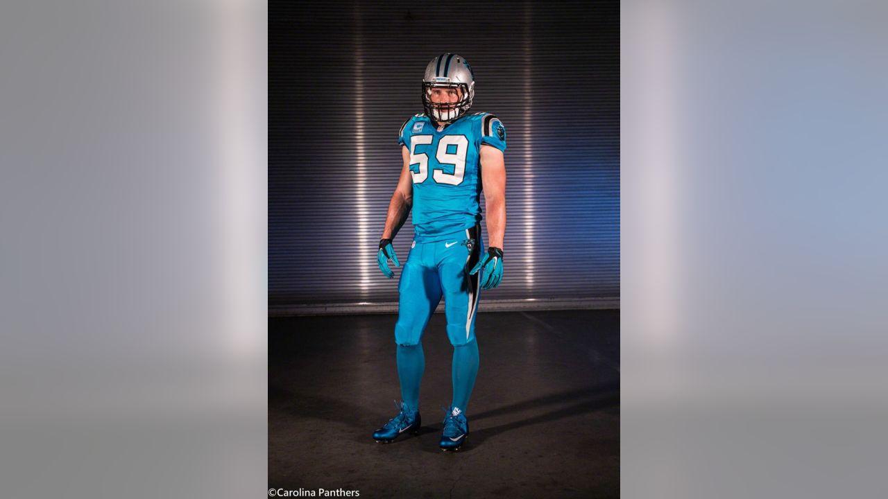 official photos 8d6a4 e7afd Panthers Color Rush Uniforms