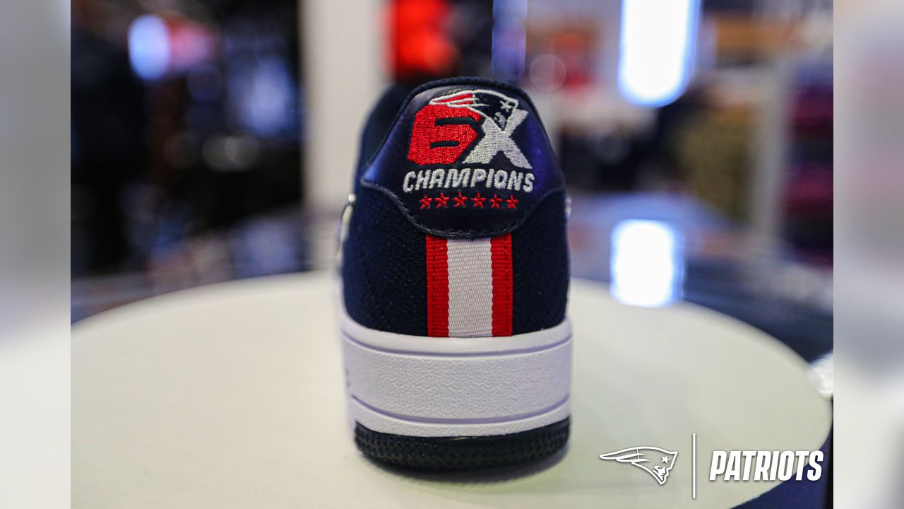 Nike Air Force 1 Ultra FlyKnit New England Patriots 6X Champ