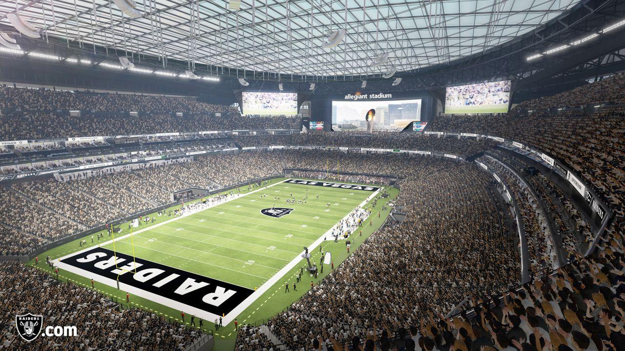 Allegiant Stadium First Look