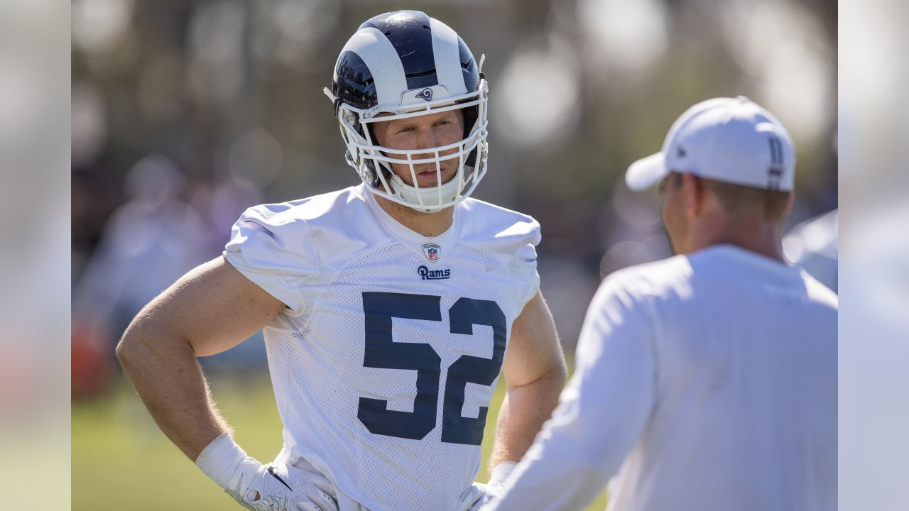 Image result for clay matthews rams camp 2019