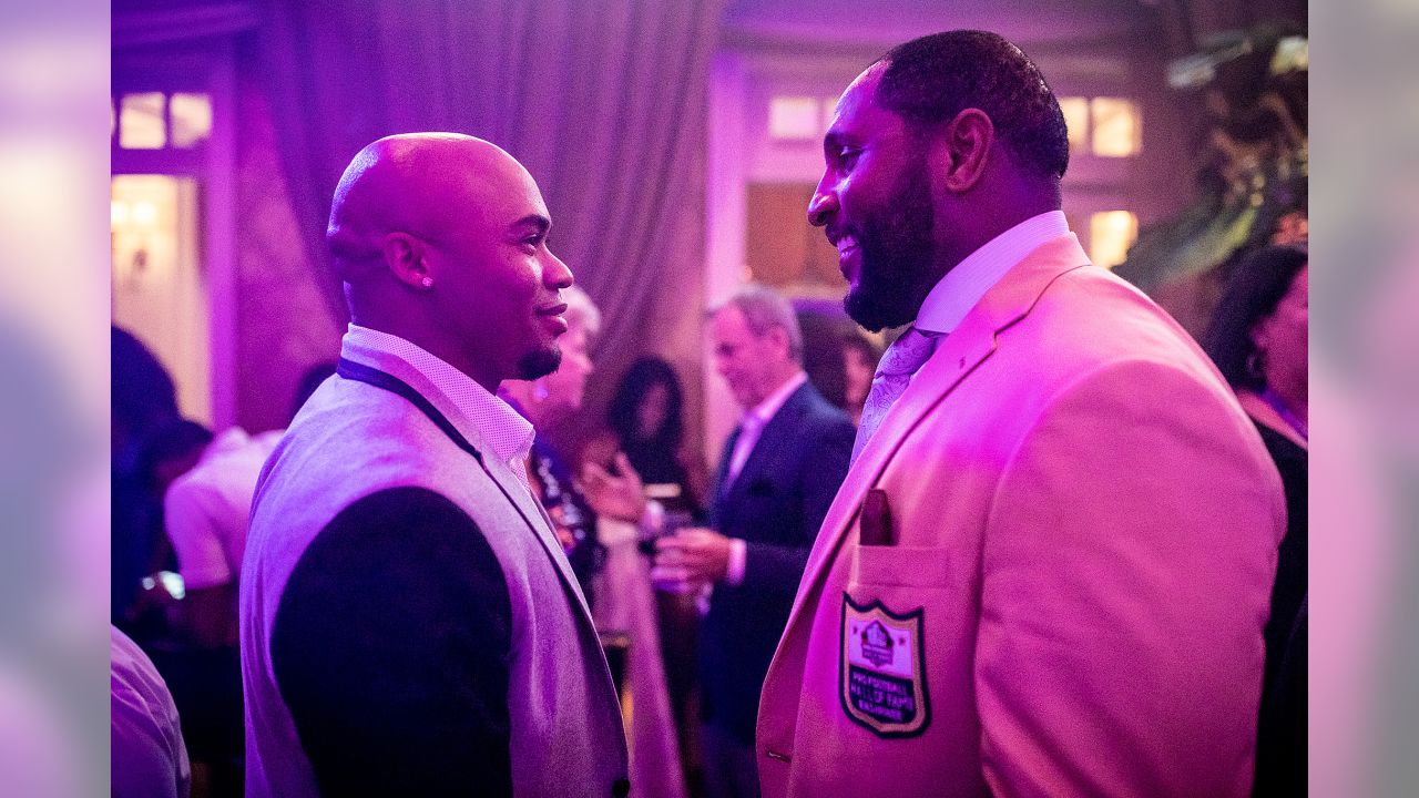 promo code 128cb 7a9c4 Photos: Old Friends (and Foes) at Ray Lewis' Hall of Fame Party