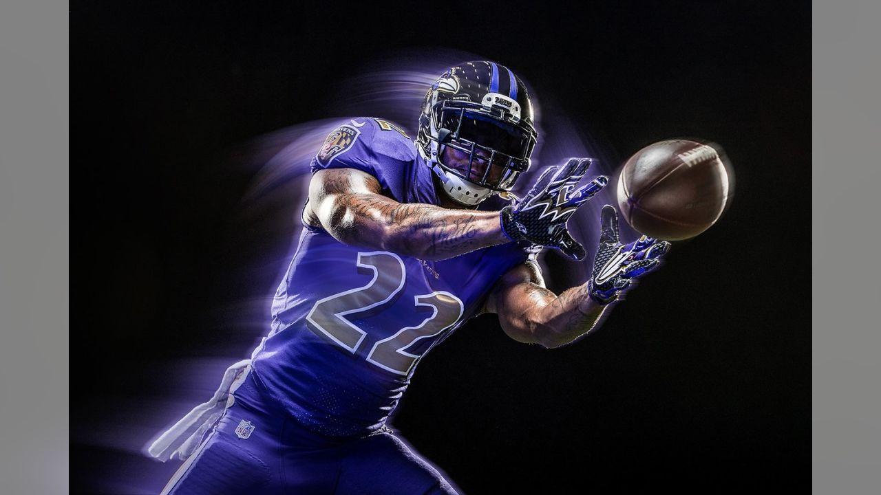 ravens color rush jersey