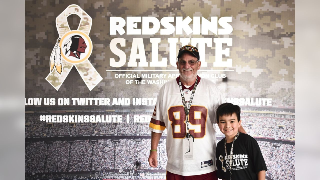 best authentic 61c0d 3331c Redskins Salute Holds Military Appreciation Day