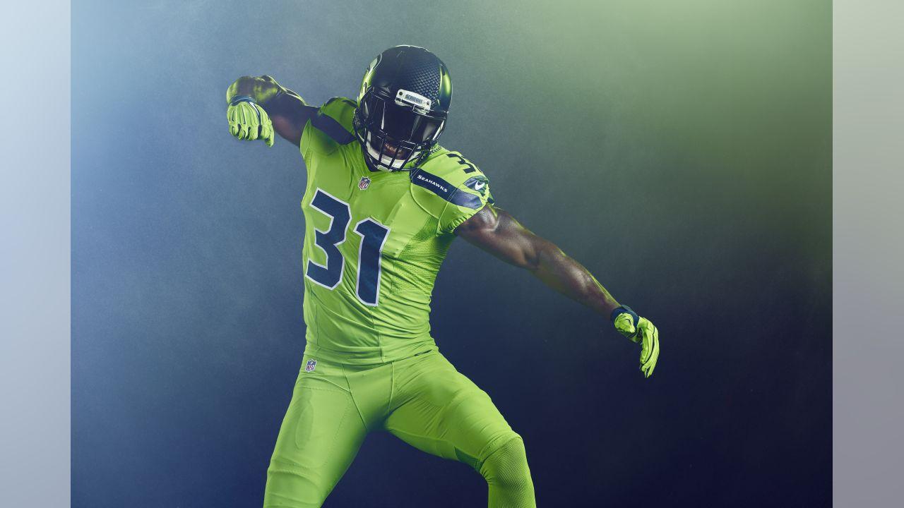 Seattle Seahawks Unveil Action Green Color Rush Uniform