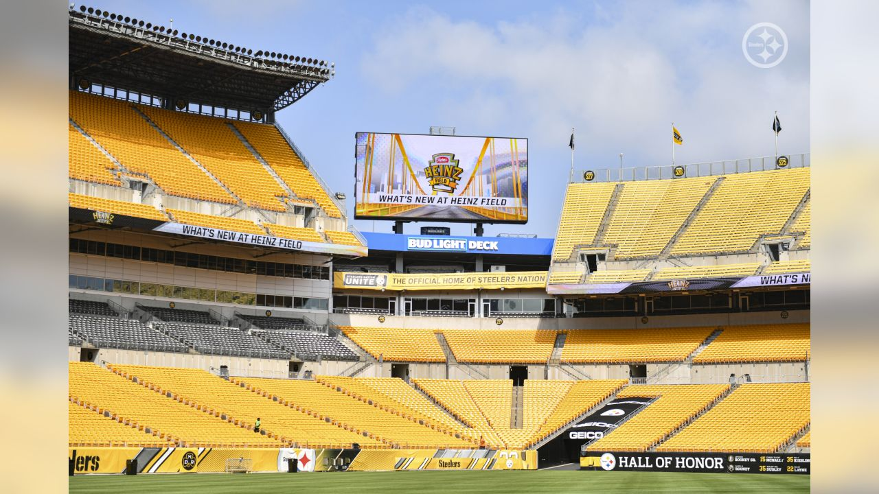 New Features At Heinz Field
