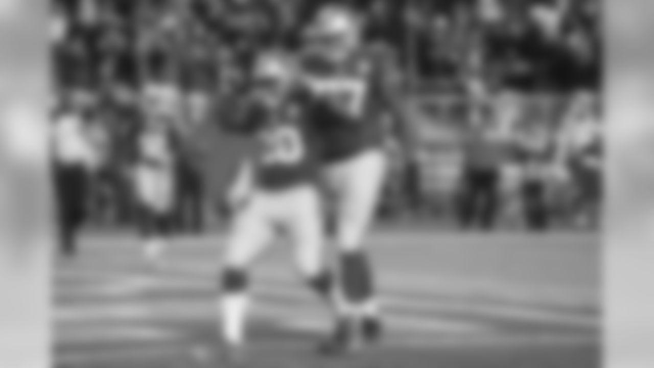 Hyde scored on an 11-yard TD run in Week 1 vs. Los Angeles Rams.