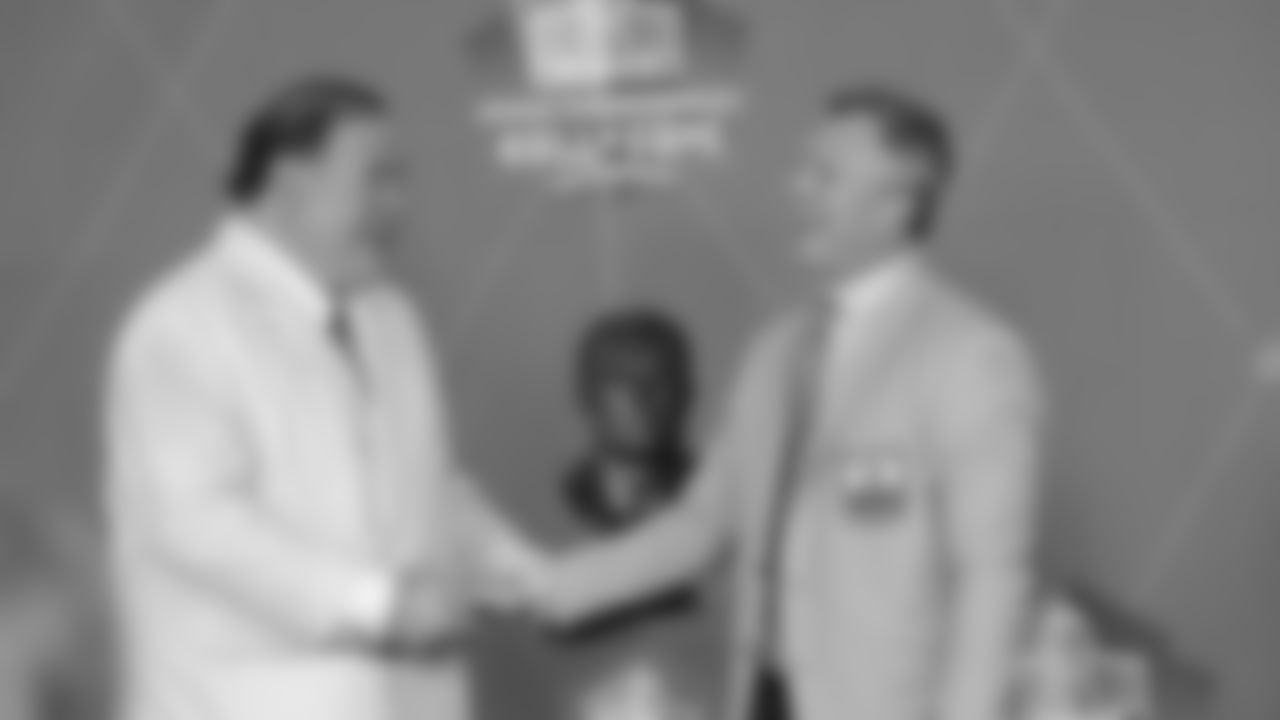 John Lynch is Inducted into the Pro Football Hall of Fame
