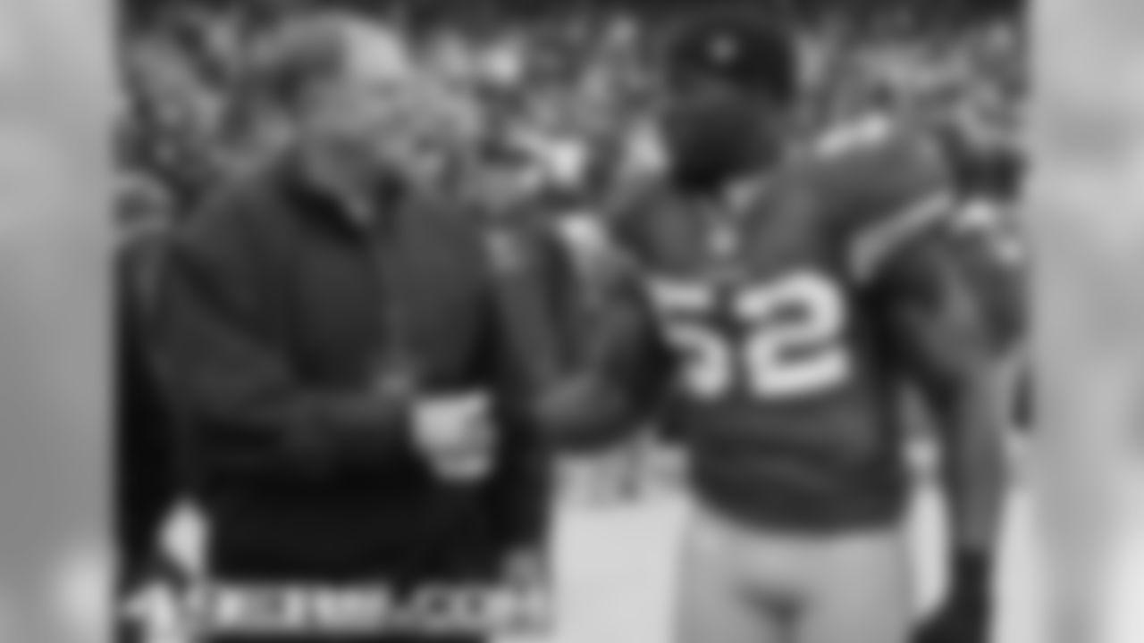 49ers Honorary Team Captain Frank Nunley