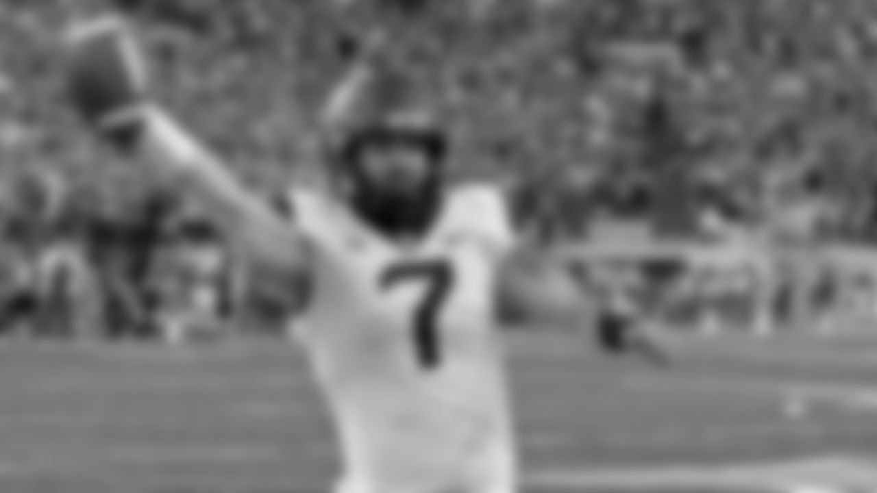 QB Will Grier, West Virginia