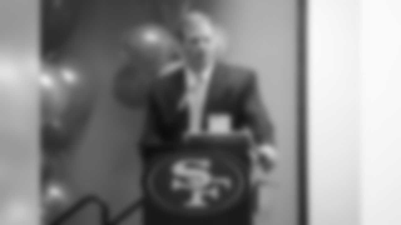 NFL Commissioner Roger Goodell spoke at 49ers Headquarters