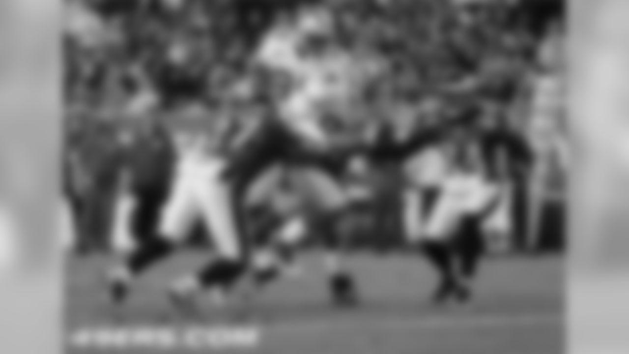 Morgan scores his third touchdown of the season.