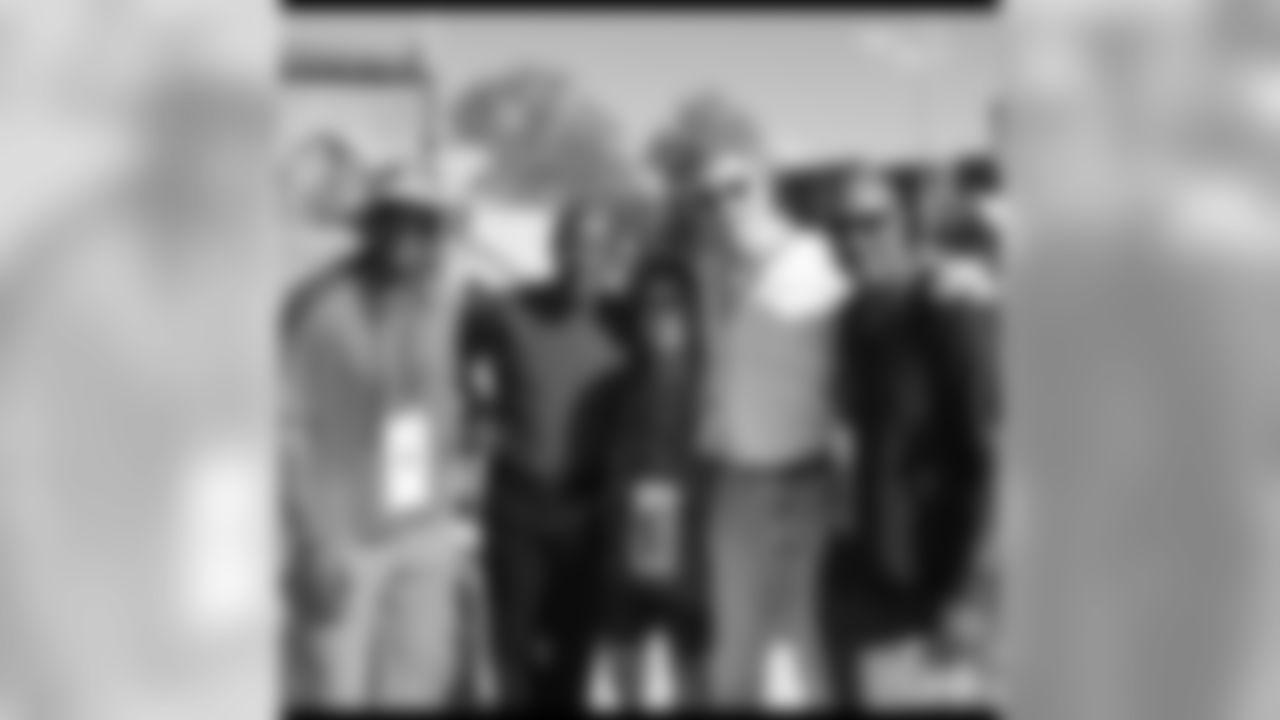 Keena Turner, Freddie Solomon, Bill Walsh's assistant Nicole,Keith Fahnhors