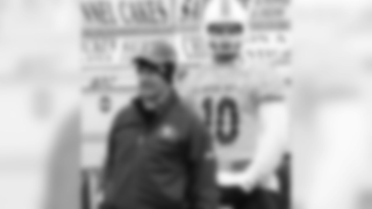 Wide receivers coach Jerry Sullivan