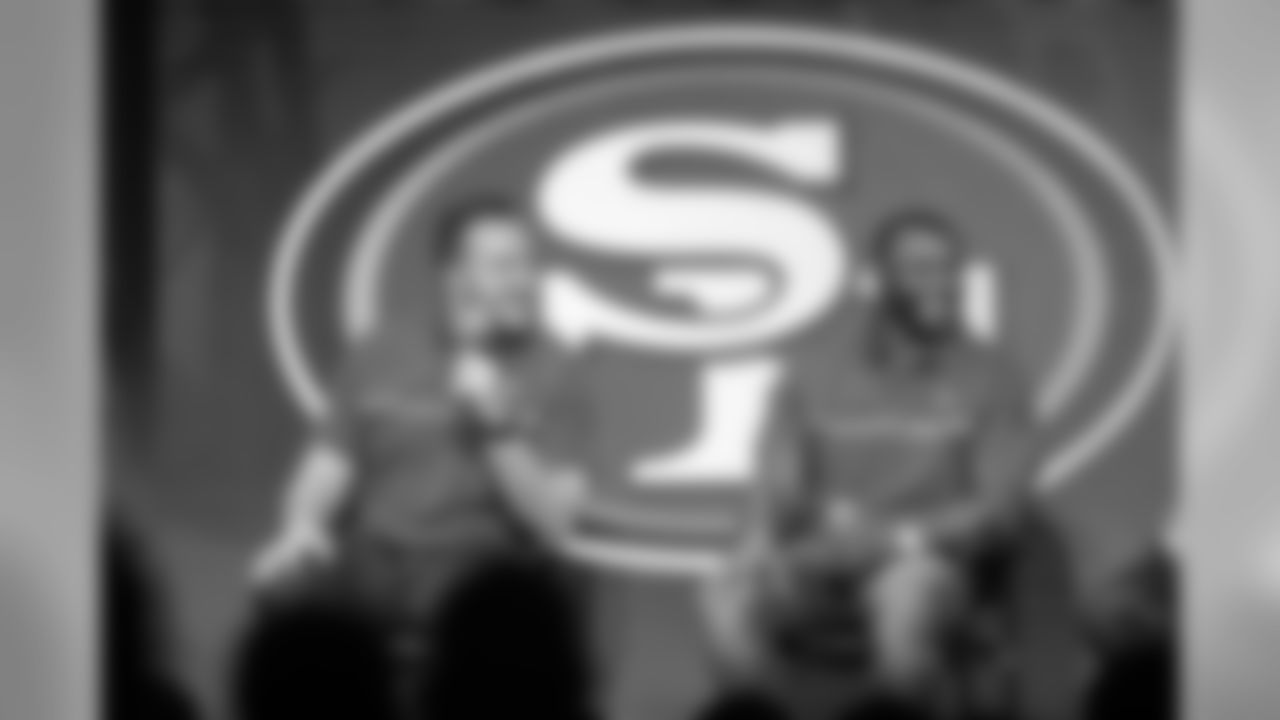 T Joe Staley and LB NaVorro Bowman