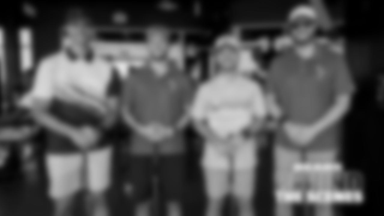 P Pat O'Donnell, K Brian Johnson, K Cairo Santos, LS Patrick Scales