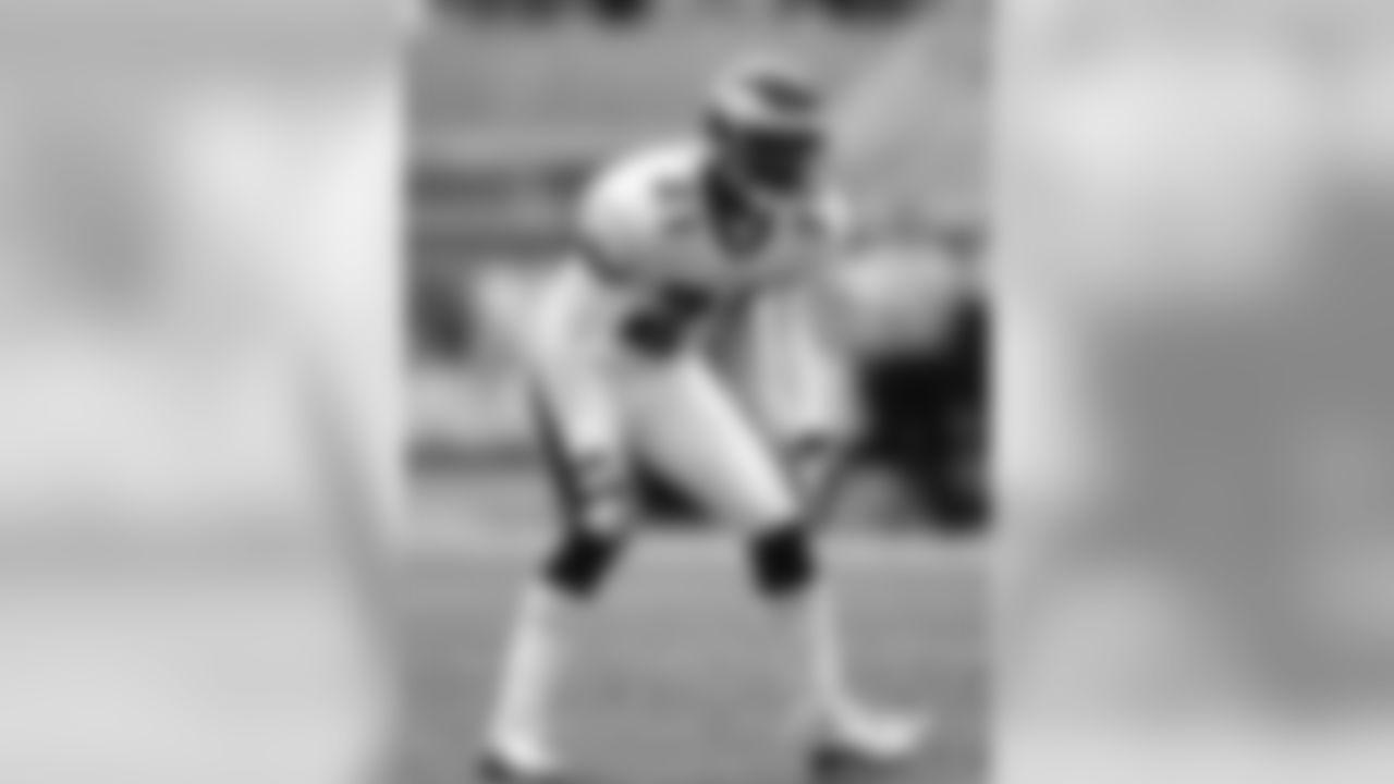 1995 Bobby Taylor - Notre Dame cornerback (Eagles)