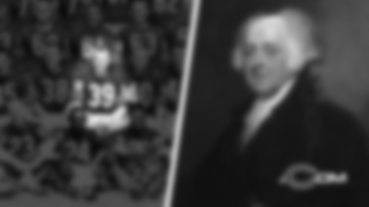 One John Adams was a Bears running back from 1959-62. The other was an American statesman who served as the second president of the United States from 1797-1801.