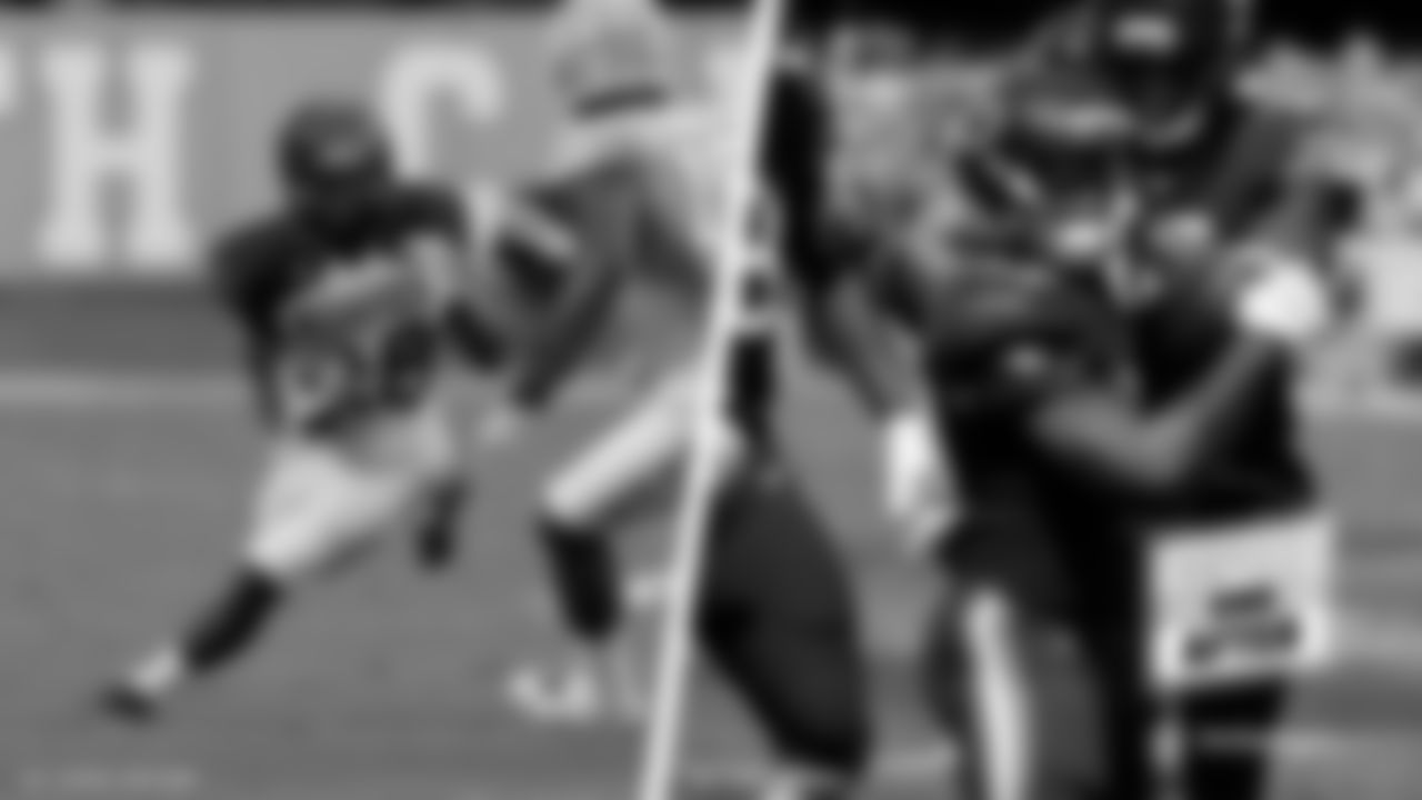 Tarik Cohen  Date of first NFL TD: 9/10/2017 vs. Atlanta Falcons