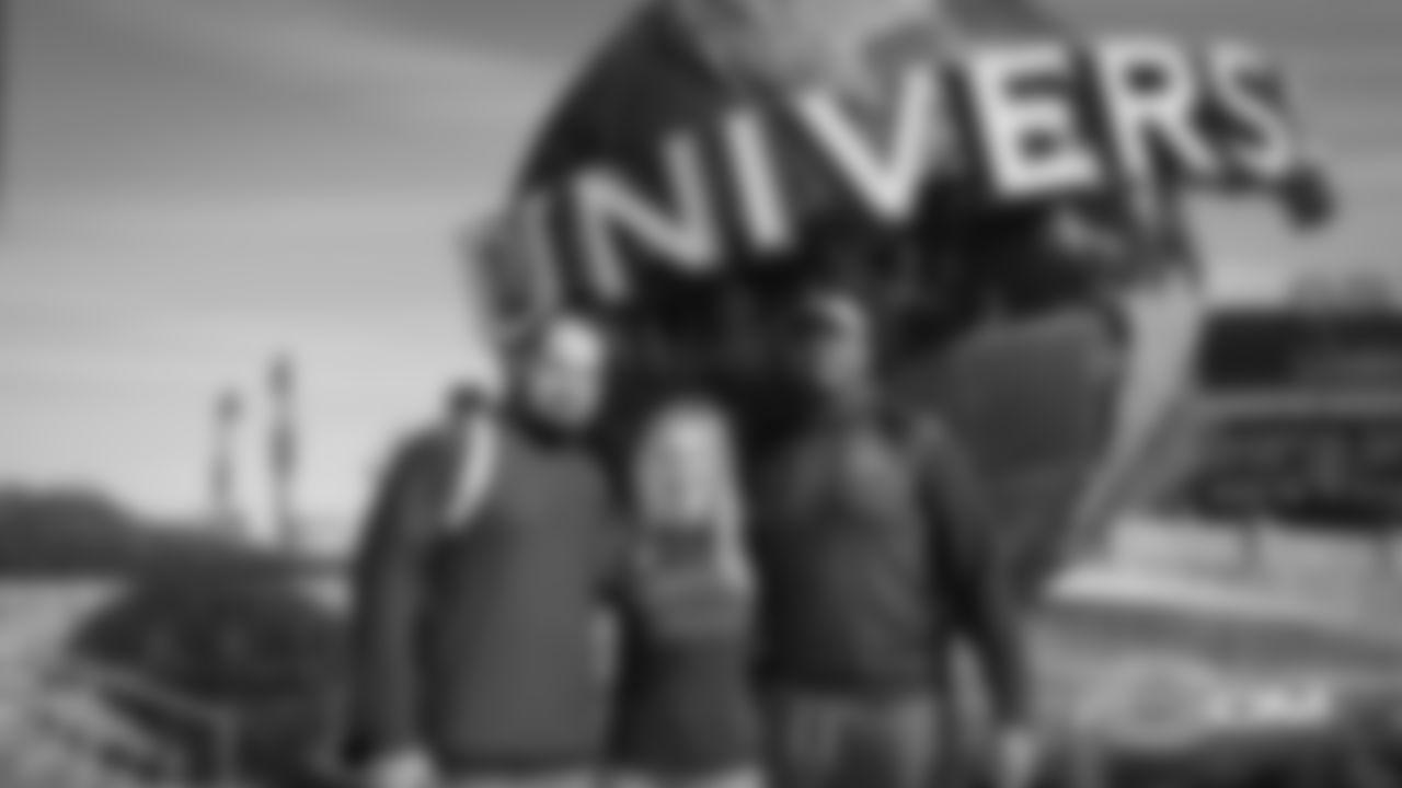 Chicago Bears players visit Universal Studios, Friday, January 25, 2019, in Orlando, Florida.