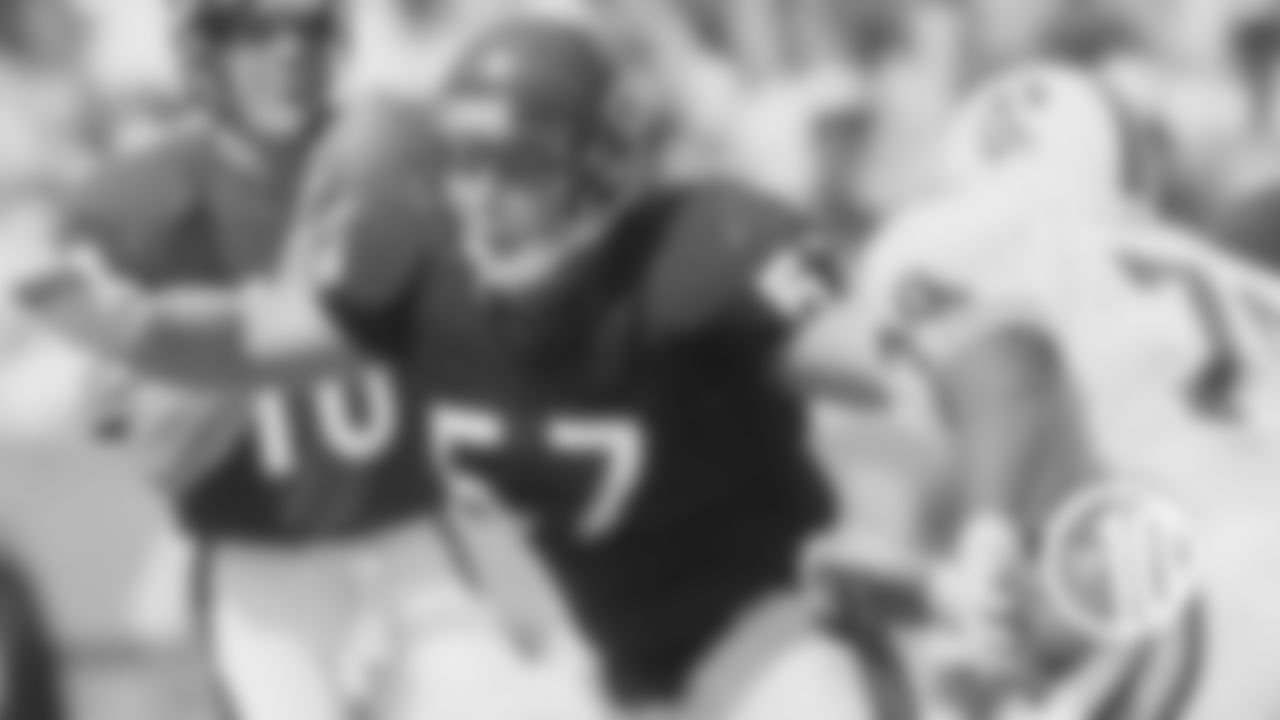(10) Tom Thayer, guard (1983)  Thayer was a key member of some of the best offensive lines in NFL history, appearing in 123 games with 120 starts over eight seasons with the Bears.
