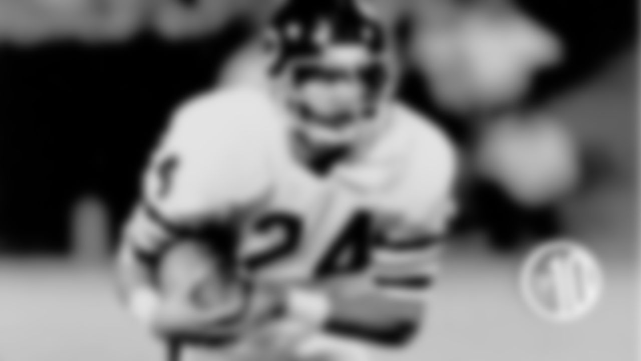 (10) Jeff Fisher, safety (1981) Fisher played in 49 games with three starts mostly as a reserve defensive back in four seasons. He returned a punt 88 yards for a touchdown in a 1981 win over the Buccaneers.