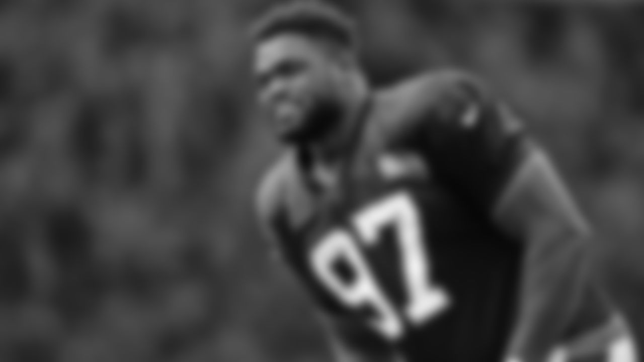 Defensive tackle Geno Atkins