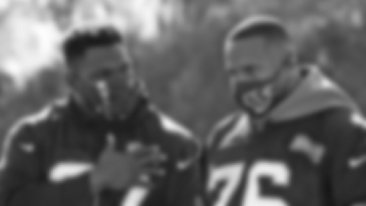 DT Geno Atkins and DT Mike Daniels
