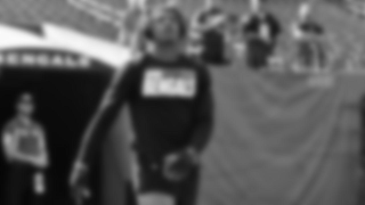 WR Ja'Marr Chase pregame