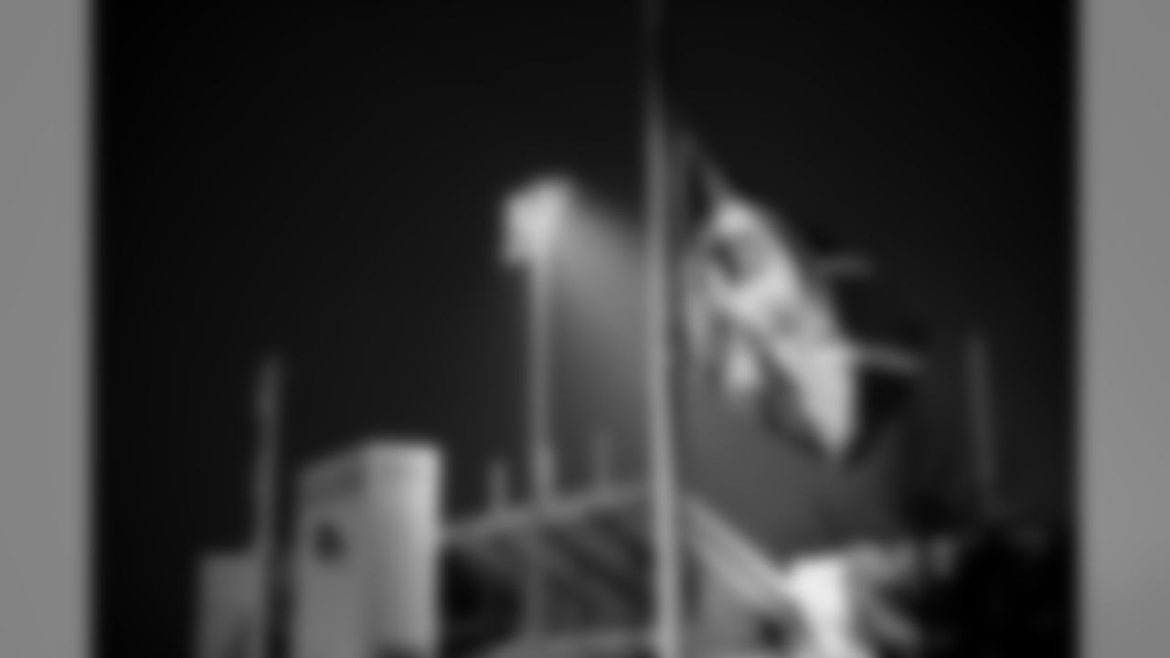 Founding owner of the Buffalo Bills, Ralph C. Wilson, Jr., passed away on March 25, 2014. One light was left on at Ralph Wilson Stadium that night in his honor.