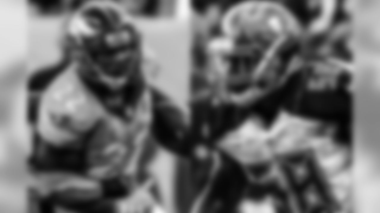 Though a fast start by the Broncos rushing offense in the first two weeks was momentarily disrupted by the Bengals' defensive front, Anderson and the Broncos' offensive line will look to get back on track against Tampa Bay. However, the Bucs are a top-10 rushing defense on a per-play basis. They've allowed just 14 first downs on run plays, a mark that is tied for seventh-best in the NFL. Per Pro Football Focus, Alexander leads the Bucs in defensive stops with 15, and one of his most important tasks will be to stop Anderson.
