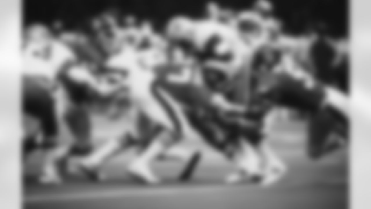 Two-time Pro Bowler, All-NFL selections in 1977 (by AP, UPI, PFW) and 1978 (AP) with Denver  Denver stats (1971-78): 99 games, 98 starts, 14 fumble recoveries, one safety (via pro-football-reference.com), 64.5 sacks (via Broncos media guide)  (Tony Tomsic via AP)