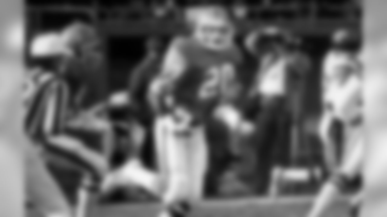 Nov. 17, 1985: Broncos 30, Chargers 24 (OT) From the opening kick, fans at Mile High Stadium had a thriller on their hands. Chargers returner Gary Anderson scored on a 98-yard kickoff to open the game, but the Broncos countered with a 44-yard touchdown drive after cornerback Louis Wright intercepted Hall of Fame quarterback Dan Fouts. The game opened up for both teams in the fourth quarter, beginning with two Gene Lang rushing touchdowns for Denver. San Diego took a 24-21 lead with little over a minute left, forcing Elway to dig deep for another comeback drive. After Elway threw five passes for 43 yards and ran once for 5 yards, kicker Rich Karlis nailed the 37-yard field goal to tie the game with nine seconds left, sending it to overtime. On the first possession of the extra period, San Diego appeared to have victory in hand. The Chargers had conducted a 45-yard drive to set up a 40-yard field-goal try. Denver's chances came down to blocking the kick. In the madness at Mile High, Ring of Fame safety Dennis Smith jumped through two Chargers blockers, deflecting the kick. Wright picked up the ball and seemed to have a path down the sideline. But Denver had called a timeout before the kick and it would have to be reset. Now lightning needed to strike twice for the Broncos, and it did. Smith timed his jump perfectly once again and Wright again scooped the ball up, this time with no whistles to call the play back as the Broncos won the game in overtime.