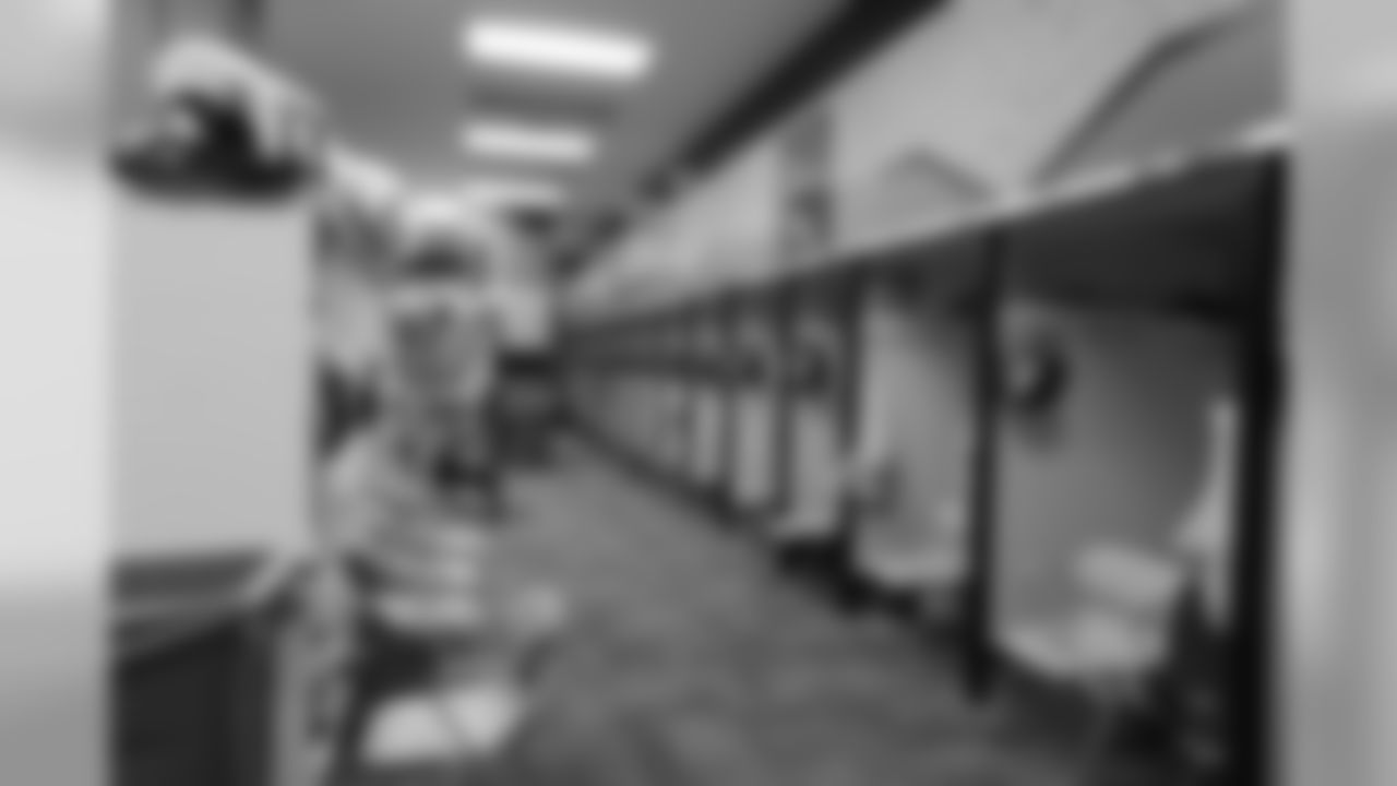 Broncos Locker Room