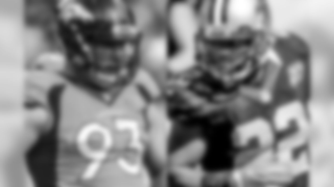 There will be no help from Derek Wolfe this weekend for a team that desperately needs to find a way to stop the run game. The Broncos were gashed by the Raiders to the tune of 218 yards, and there's no break in sight for Denver. When they travel to New Orleans this weekend, they'll need to slow down Mark Ingram, who ran for 158 yards and 10.5 yards per carry last week against the 49ers. If the Broncos can't slow him and a couple of their other competent backs down, it won't matter if the passing defense succeeds or if the offense finds its rhythm. Simply put, without a better run defense, the Broncos will struggle to win games. Jared Crick is among the players who must improve. Crick has been a dependable pass rusher through nine weeks, but the Broncos will need more from him in the run game.