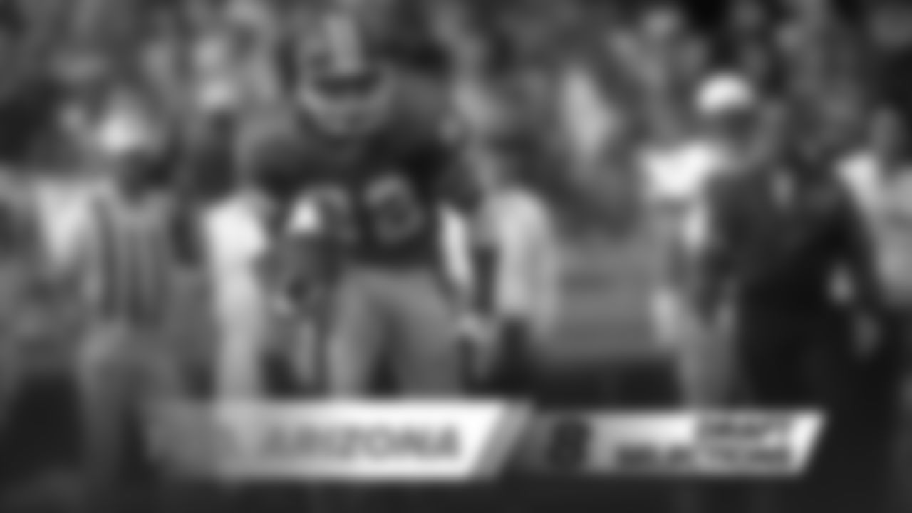 1962: HB Walter Mince; 1975: DB Roussell Williams; 1984: CB Randy Robbins, RB Chris Brewer; 1985: WR Vance Johnson (pictured); 1988: RB Channing Williams; 2008: LB Spencer Larson; 2016: S Will ParksNote: Players selected in AFL drafts often were also selected in NFL drafts, where they usually opted to play rather than the upstart American Football League.