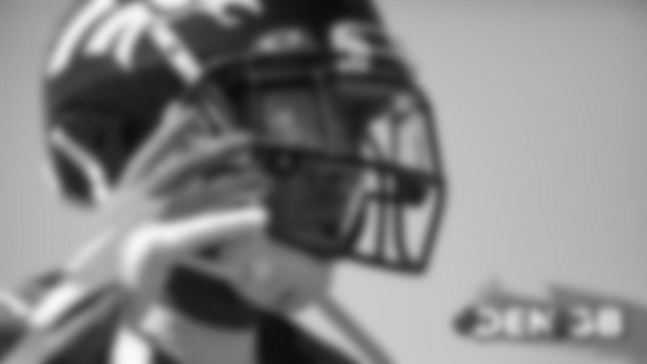 Chris Harris Jr. during the Broncos' practice on September 20, 2019.