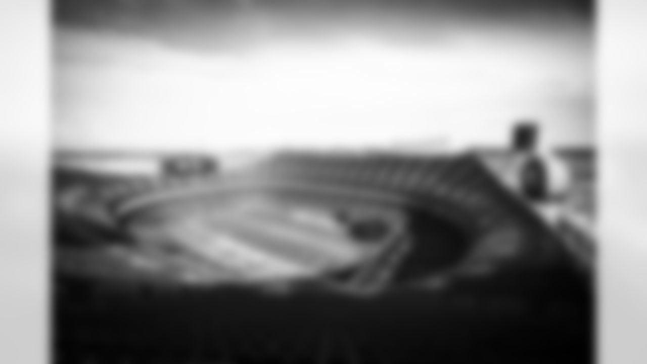 The stadium before a NFL divisional round playoff football gamebetween the Cleveland Browns and Kansas City Chiefs on January 17, 2021 at Arrowhead Stadium. The Browns lost 17-22.