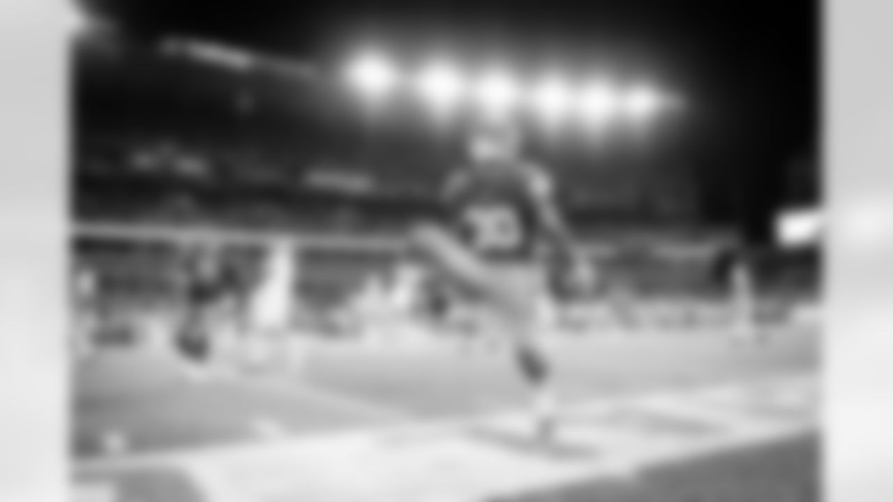 Running Back D'Ernest Johnson (30) during a NFL football game between the Indianapolis Colts and Cleveland Browns on October 11, 2020 at FirstEnergy Stadium. The Browns won 32-23.