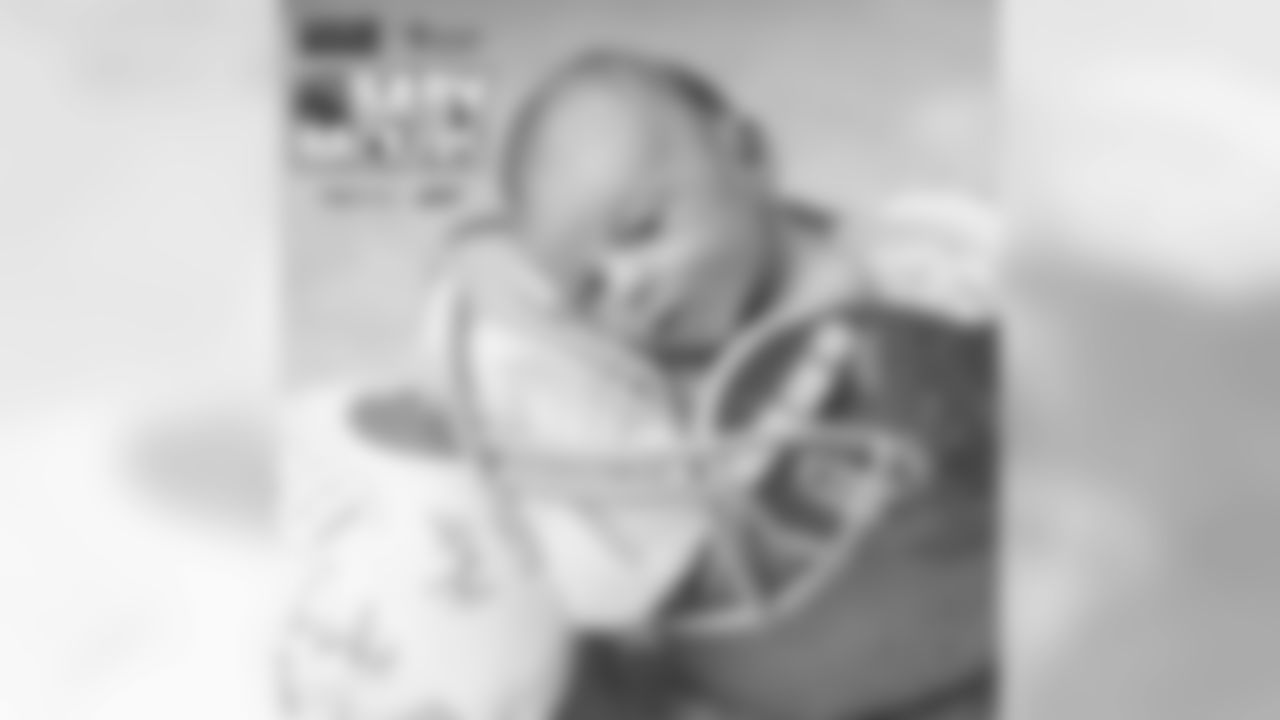 Baby Backer: HoldenParents: Drew and Cory DyettWhy we love the Cleveland Browns: We love the Browns because of the history of excellence and the promise of more to come. Being a Browns fan has definitely been character building and that's why our son will be a Browns fan too.