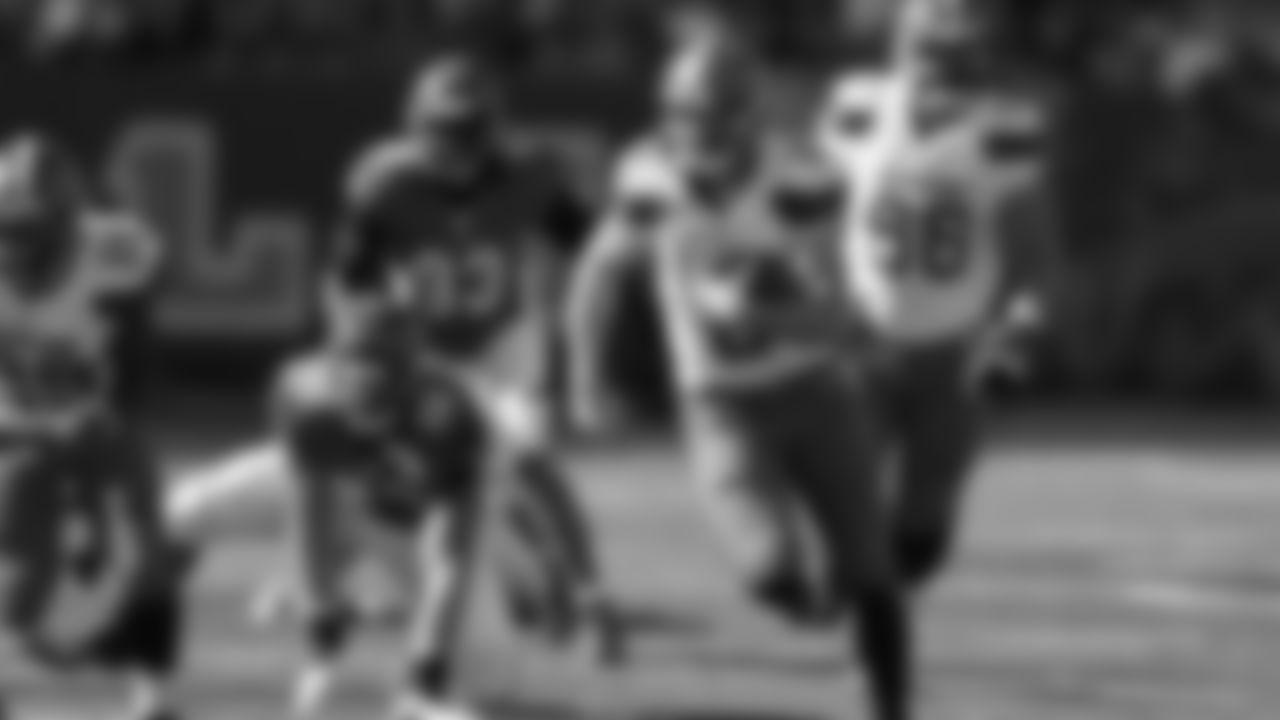 QB Kevin Hogan runs for a touchdown in the second half.
