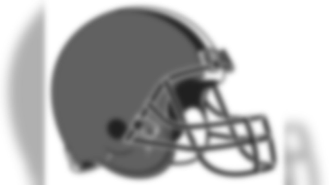 Browns Helmet Right Facing