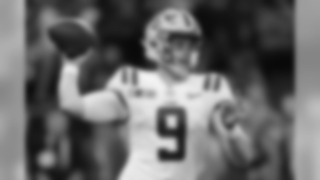1) Bengals — QB Joe Burrow (LSU)