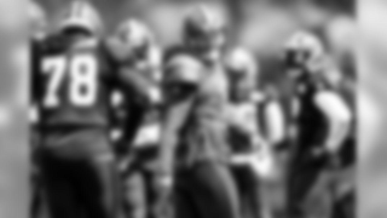 Quarterback Baker Mayfield (6) during practice on September 4, 2019