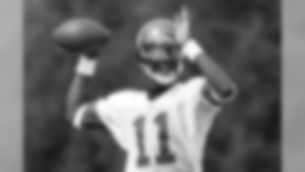 QB Josh Johnson has gotten a large amount of reps with only two passers in camp this week