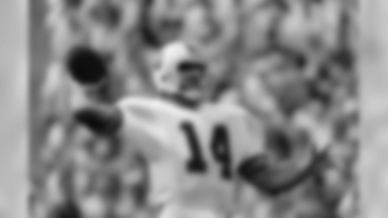 10. Vinny Testaverde, 3,240 yards, 1988