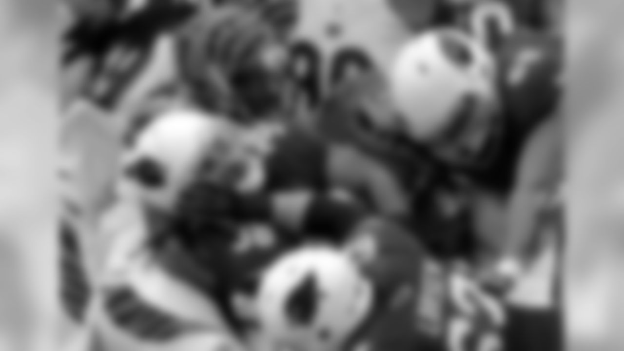 RB Andre Ellington in the pile