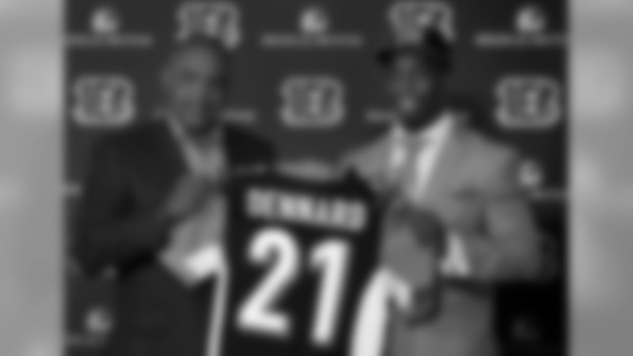 2014: Michigan State CB Darqueze Dennard to the Bengals