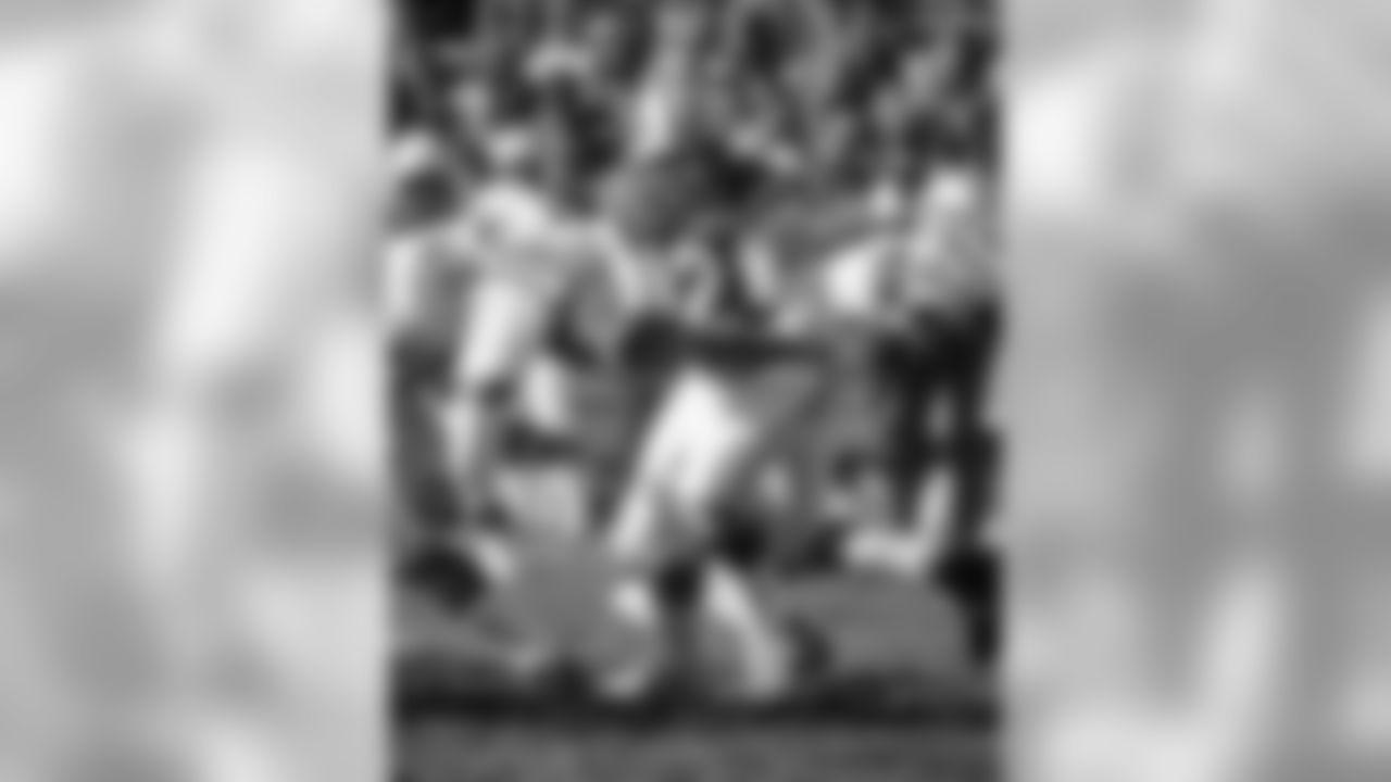 1975: Jets QB Joe Namath against the Cardinals